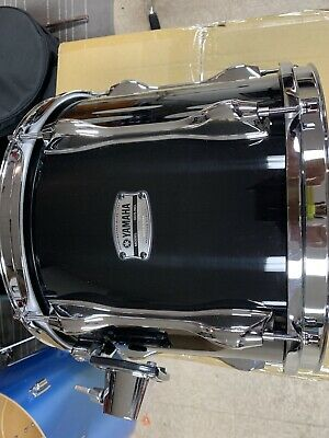 Yamaha Recording Custom 10x12 Tom - Black Drum Exc Cond Score A Deal Used