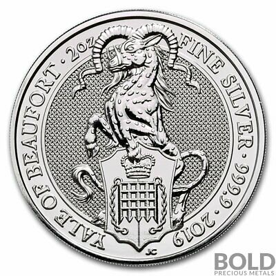 2019 Silver Great Britain Queen's Beasts (The Yale) - 2 oz