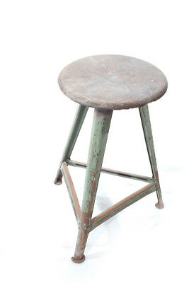 Original Rowac Stool Art Deco Workshop Stools Vintage Bauhaus with Design