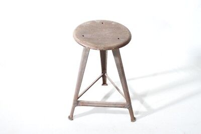 Original Rowac Stool Art Deco Workshop Stools Vintage Bauhaus Design,
