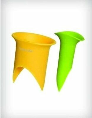 Pepper Corer Set of 2 Plastic Seed Remover Bell Peppers Jalapeno
