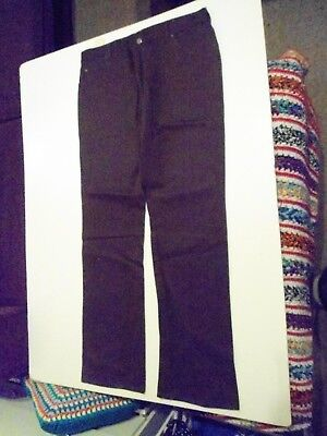 Vintage Lee Jeans Brown Trouser Pants Size 97