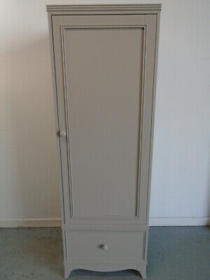 Laura Ashley Broughton Wardrobe in Pale French Grey 75% OFF - QA1402192008