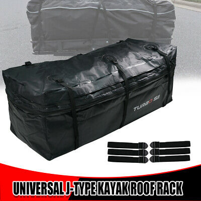 ONE Waterproof Luggage Hitch Mounted Cargo Carrier Bag For Cars with Hitch Trays