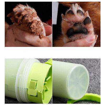 US Portable Pet Paw Mudbuster Mud Cleaner Washer Dog Cat Pet Paw Plunger Cup