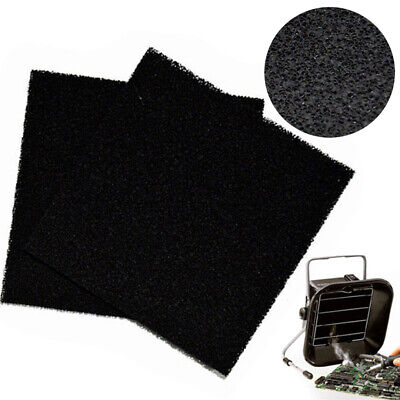 Activated carbon filter sponge solder smoke absorberESD fume extractor13x13cmTDO