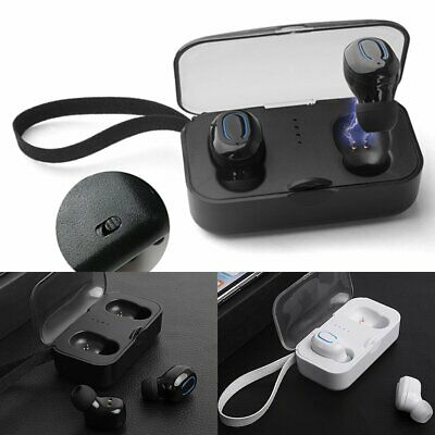 Wireless Earbud TWS Mini True Handfree BT5.0 Stereo Earphone Bass In-Ear Headset