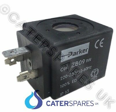 Zb09 Parker Solenoid Valve Replacement Coil Zbo9 9W 230V Coffee Machine Part