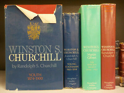 Winston S. Churchill (His Life) - 4 Books Collection! (ID:4208)