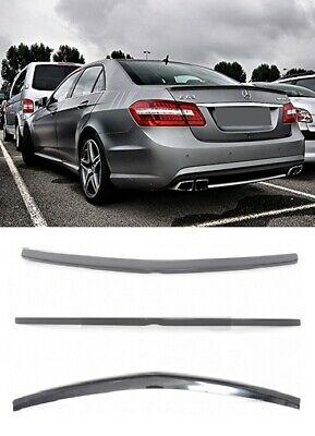 Amg Look Rear Spoiler Mercedes E Class W212 09+ Boot Trunk Lid Lip Wing Abs Top!