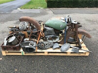 Harley Davidswon WLA 750cc 1942 runs and drives great with dutch registration
