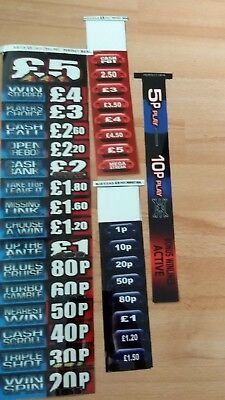 Deal Or No Deal Perfect Deal £5 Fruit Machine Decals