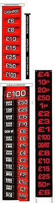 Deal Or No Deal Red Mist £100 Fruit Machine Decals
