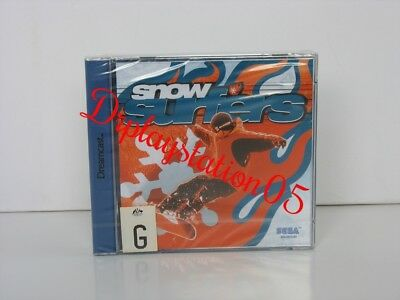 SNOW SURFERS Sega Dreamcast Brand New and sealed, 100% Pal Game( AUS )