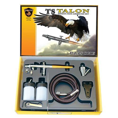Paasche TS-SET Double Action Siphon Feed Airbrush