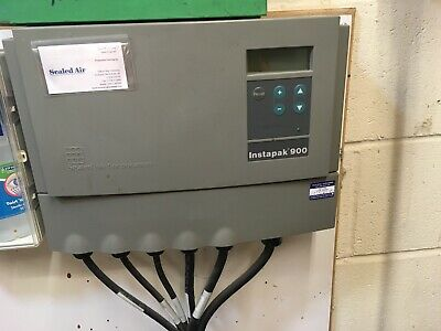 instapak 900 foam packaging machine foam in place sealed air