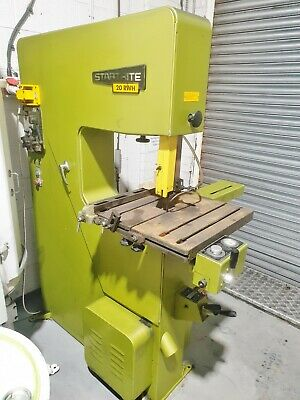 Startrite 20RWH bandsawlarge industrial vertical band saw