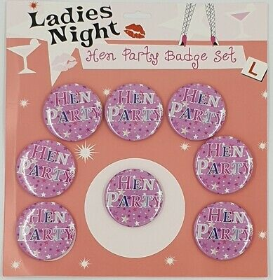 1 - 40 Hen Party Night Do Badges Pink Accessories Bag Fillers Hen Party