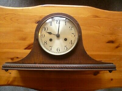 Napoleon Hat Mantel Clock for spares or repairs