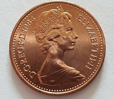 United Kingdom UK Half Penny Coin 1/2p 1984 - Brilliant Uncirculated FREE POST