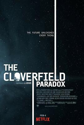 """""""the Cloverfield Paradox """" Dvd  Free Shipping  Factory Sealed"""