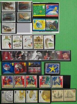 GB Stamp 9 full Issues all MNH