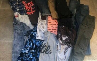 Boys Clothes Bundle Age 10 11 12 Years - Superdry ,Hype,Next , Gap, River island