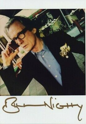 BILL NIGHY *HARRY POTTER / HOT FUZZ* Actor 7x5 Signed Autograph Photo