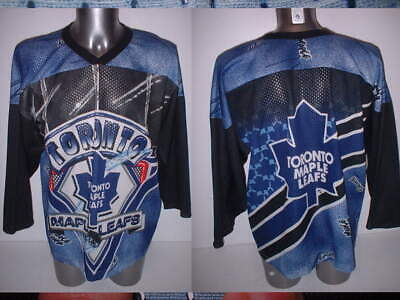 Toronto Maple Leafs CCM Adult Large Ice Hockey Shirt Jersey NHL Top Vintage c8bcaf00f