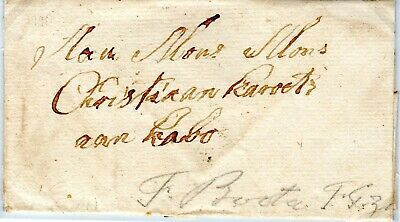 Cape of Good Hope domestic letter 1790