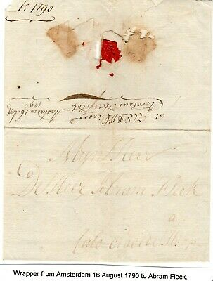 Cape of Good Hope letter from Amsterdam 1790