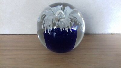 Lovely Item..collectable..glass Paperweight..so Colourful..paperweight..glass