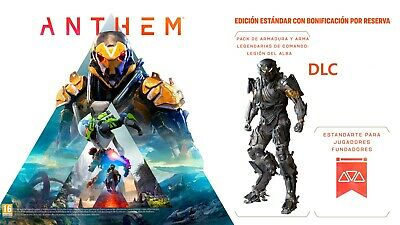 (PS4) Anthem -  Theme, Armor & Weapon Pack- DLC