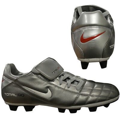 Nike Total 90 II VT Mens Grey Firm Ground Football FG Boots 306443 017 Q4K
