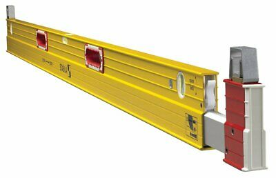 (Closeout) Stabila 35712 106T 7' - 12' Plate Level 2 with Removable Stand-Offs