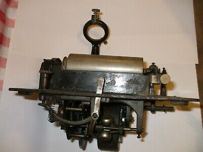 Edison Standard  motor , spring winds fully as found