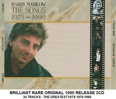 Barry Manilow Very Best Ultimate Greatest Hits Collection 1975-90 RARE 1990 2CD