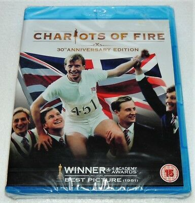 Chariots Of Fire 30th Anniversary Edition. Blu Ray. New & Sealed