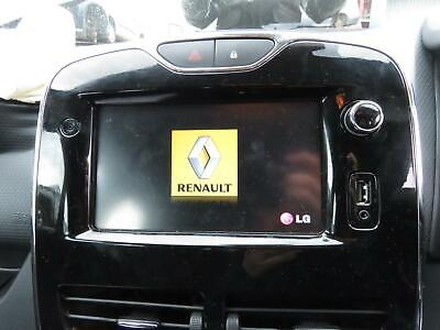 Renault Clio 2013 Mk4 Ref - 277 / Sat Nav Screen Only Free P&p