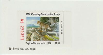 1994 Wyoming Conservation Duck Stamp