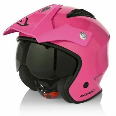 Acerbis Trials Helmet Pink Montesa Beta Enduro Gasgas Road Legal Streetfighter