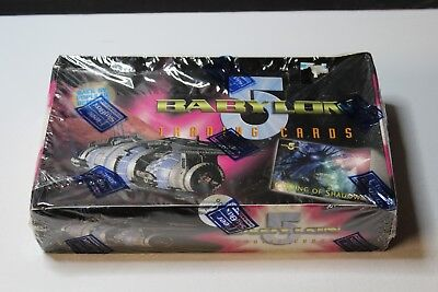 Babylon 5 Coming of Shadows Collectible Card Game SEALED Box, 48 Packs per Box