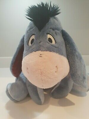 Disney Store Eeyore Plush Soft Toy From Winnie The Pooh Excellent Condition