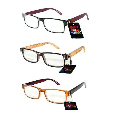 9a0703243b VINTAGE SMALL OVAL Matte BLACK Reading Glasses Spring Temples +3.00 ...