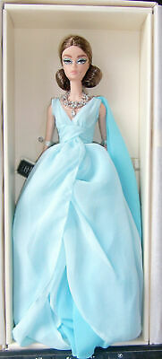 2017 Blue Chiffon Ball Gown Silkstone Barbie NRFB