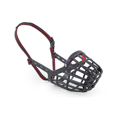 Ancol Plastic Dog Muzzle Strong Basket Style Size 7