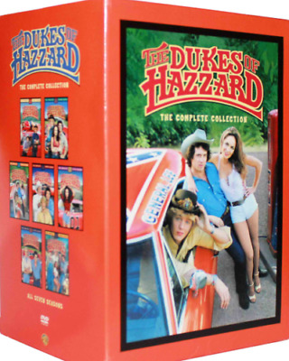 The Dukes Of Hazzard: NEW Complete 33 Disc DVD Series,Seasons 1-7  1,2,3,4,5,6,7