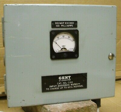 Gents Of Leicester Power Supply For Electric Master Clock System