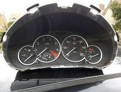 Peugeot 206Cc 1.6 Petrol 2005  Speedo Clocks