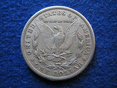1921 S Morgan Silver Dollar - Light Toned Extra Fine - Free U S Shipping